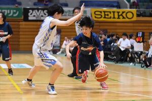 全国の中学生が参加できる月刊バスケットボールカップ(群馬県)を観戦しました