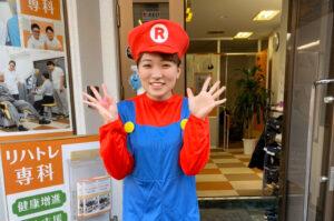 リハビリデイサービス「リハトレ専科西戸山公園」でハロウィンイベントを行いました