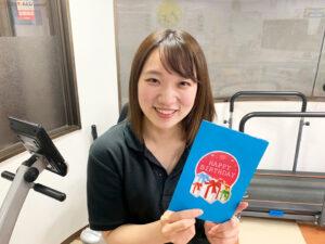 誕生日カードをリニューアルしました【リハビリデイサービス施設「リハトレ専科西戸山公園」】